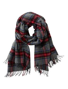 Signature Plaid Scarf by L.L.Bean