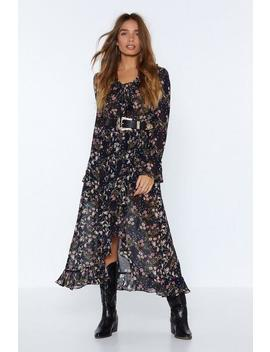Second Nature Floral Dress by Nasty Gal