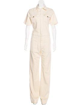 Frame Denim Short Sleeve Denim Jumpsuit by Frame