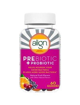 Align Prebiotic + Probiotic Supplement, 60 Gummies by Align
