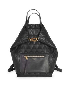 Quilted Convertible Backpack by Givenchy
