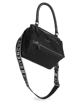 Small Nylon Pandora Bag With Logo Strap by Givenchy