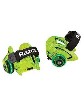 Razor Jetts Dlx Heel Wheels, Neon Green by Razor