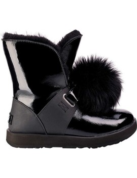 Isley Waterproof Patent Leather Boot by Ugg