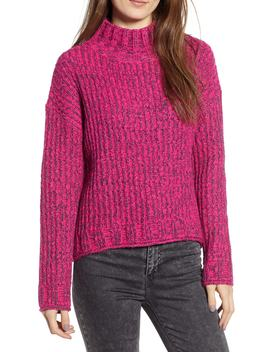 Cozy Stitch Mock Neck Sweater by Bp.
