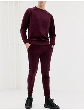 Only & Sons Velour Jogger by Only & Sons