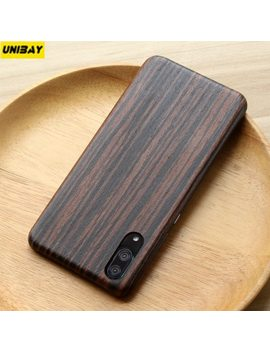 Huawei P20 Pro Wood Case Bamboo Hard Huawei P20 Case Cover Anti Scratch Anti Finger Print Huawei P20 Pro P20 Case Cover by Unibay