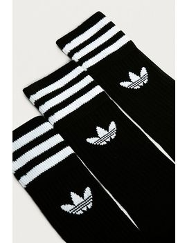 Adidas Black Crew Sport Socks 3 Pack by Adidas