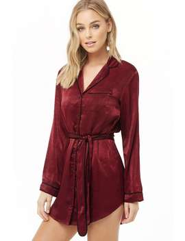 Satin Night Dress by Forever 21