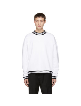 White Gymnasium Sweatshirt by Noon Goons