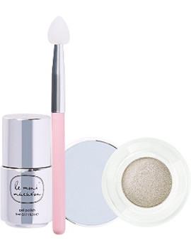 Online Only Le Metallique Chrome Manicure Set by Le Mini Macaron