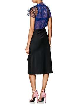 Colorblocked Sheer Lace Blouse by 3.1 Phillip Lim