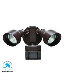 110 Degree Bronze Motion Outdoor Security Light by Defiant
