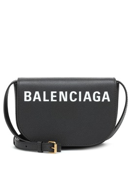 Ville Day Xs Leather Shoulder Bag by Balenciaga