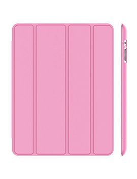Je Tech Case For I Pad 2 3 4 (Old Model), Smart Cover With Auto Sleep/Wake, Pink by Je Tech