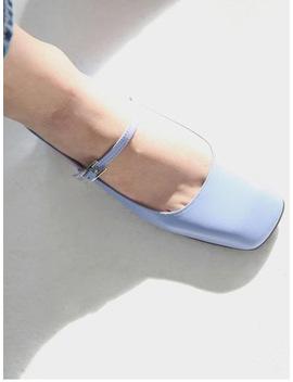 Solandrowa Slingback Chunky Heel Shoe   Sky Blue by Garmentory