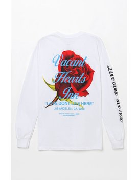 Pac Sun Vacant Hearts Long Sleeve T Shirt by Pacsun