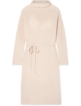 Wool And Cashmere Blend Turtleneck Dress by Vince