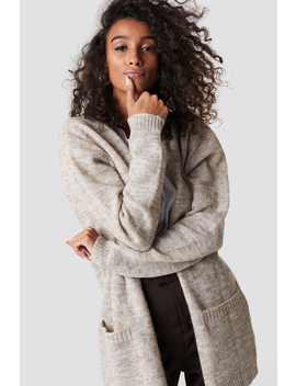 Wool Blend Cardigan by Na Kd Exclusive