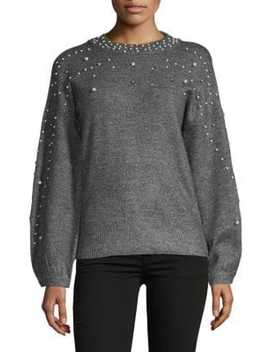 Embellished Pullover Sweater by I.N.C International Concepts