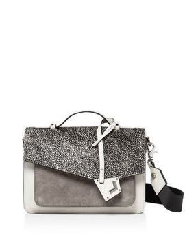 Cobble Hill Medium Printed Calf Hair, Suede & Leather Crossbody by Botkier