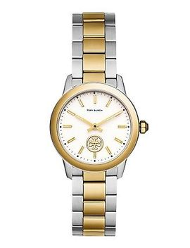 *Brand New* Tory Burch Women's Two Tone Stainless Steel Bracelet Watch Tbw1306 by Tory Burch