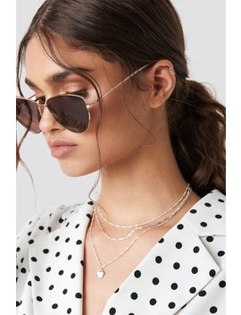 Round Metal Cat Eye Sunglasses by Na Kd Accessories
