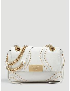 Vicky Leather Crossbody Bag Studs by Guess