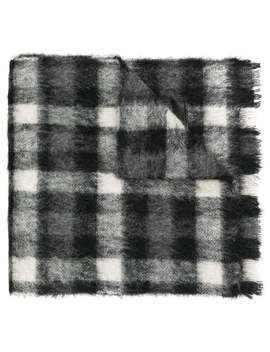 Checked Scarf by Dsquared2