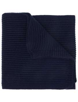 Ribbed Knit Scarf by Dsquared2
