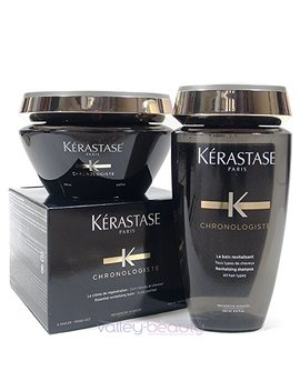 Kerastase Chronologiste Bain And Masque (Creme) Chronologiste 250ml/200ml by Kerastase