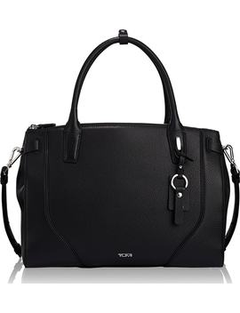 Stanton Kiran Leather Laptop Briefcase by Tumi