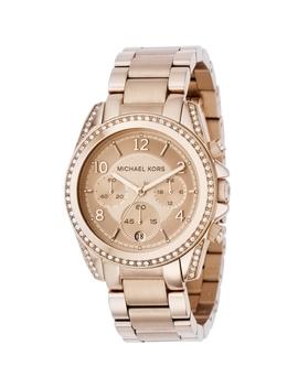 Ladies Michael Kors Blair Chronograph Watch Mk5263 by Michael Kors