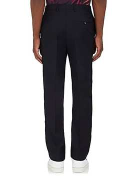 Side Striped Wool Trousers by Lanvin