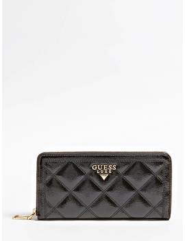 Vesper Patent Leather Wallet by Guess