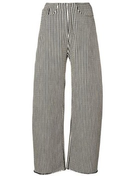 Striped Wide Leg Trousers by Marques'almeida