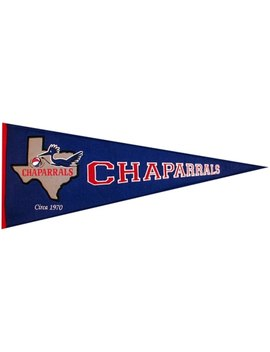 Winning Streak Dallas Chaparrals Hardwood Classics Pennant by Winning Streak Sports