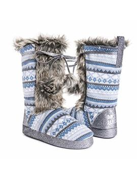 Muk Luks Women's Jewel Winter White Slouch Boot by Muk+Luks