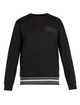 Ff Cotton Blend Sweatshirt by Fendi