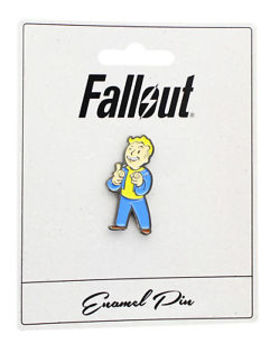 "Fallout Vault Boy ""Charisma"" Enamel Collector Pin by Video Games"