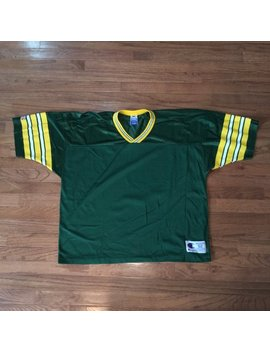 Vintage 90s Green Bay Packers Blank Champion Jersey Size Mens Medium/Large by Etsy