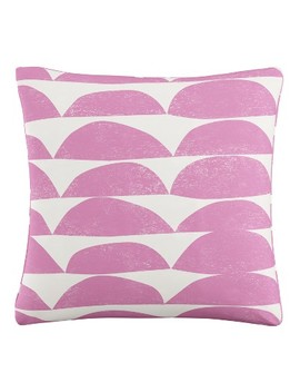 Halfmoon Stripe Pillow by Skyline Furniture
