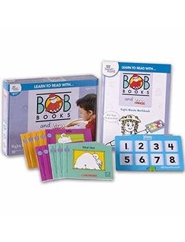 Learn To Read With… Bob Books And Versa Tiles   Sight Words Set With 10 Bob Books, Answer Case, And Workbook (Ages 3 6) | Level 1 Reading Books For Children by Eta Hand2mind