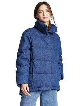 Quilted Swing Puffer Jacket by Prps