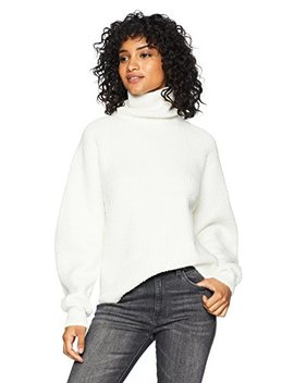 Cable Stitch Women's Fuzzy Turtleneck Sweater by Cable+Stitch