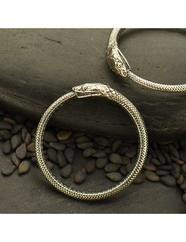 Store Closing Sale 35 Percents Off!! Ouroboros Snake Ring, Sizes 6, 7, And 8, & 9. Sterling Silver 925. Item 252 by Etsy