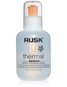 Rusk Designer Collection Thermal Serum With Argan Oil, 4.2 Fl. Oz. by Rusk