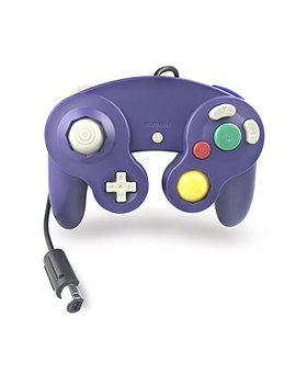 Crifeir The Wired Controller For Gamecube Ngc Wii Video Game (Blue Purple) by Crifeir