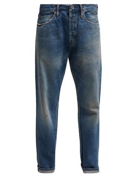 Selvedge Straight Leg Jeans by Chimala