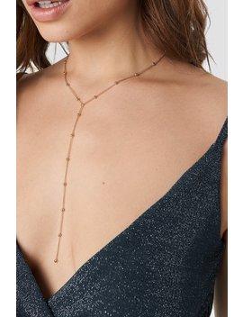 Drop Chain Necklace by Linn Ahlborg X Na Kd